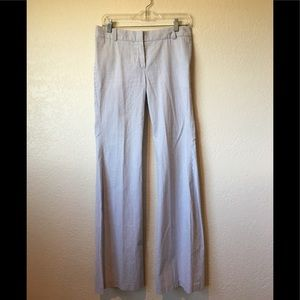 Pants - Chloe azur Blue and white pants made in France